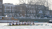 Putney. London. Veterens' Boat Race, Tideway Week, build up to the  2011 University Boat Race over parts of the Championship Course - Putney to Mortlake. Friday  25/03/2011 [Mandatory Credit; Peter Spurrier/Intersport-images]..CUBC. Bow. Neil WEST, Sean GORVY, Peter JACOBS, Guy POOLEY, Graham SMITH, Matt PARRISH, Richard SMITH, Stroke Marc WEBER, cox Kevin WHYMAN 2011 Tideway Week