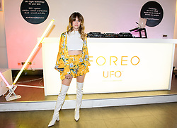 EDITORIAL USE ONLY<br /> Whinnie Williams at the FOREO launch party in London for the world&Otilde;s first smart mask device, the FOREO UFO.