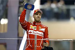 November 26, 2017 - Abu Dhabi, United Arab Emirates - Motorsports: FIA Formula One World Championship 2017, Grand Prix of Abu Dhabi, ..#5 Sebastian Vettel (GER, Scuderia Ferrari) (Credit Image: © Hoch Zwei via ZUMA Wire)
