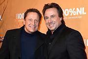 100% NL Awards 2018 in Panama, Amsterdam.<br /> <br /> Op de foto:  Marco en Armando Borsato