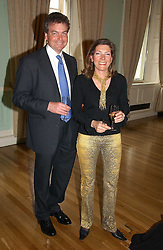 TIM & DARIA COLERIDGE at a party to celebrate the publication of 'A Much Married Man' by Nicholas Coleridge held at the ESU, Dartmouth House,  37 Charles Street, London W1 on 4th May 2006.<br />