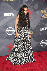 August 6, 2017 - New Jersey, U.S - BEVERLY BOND, at the Black Girls Rock 2017 red carpet. Black Girls Rock 2017 was held at the New Jersey Performing Arts Center in Newark New Jersey. (Credit Image: © Ricky Fitchett via ZUMA Wire)