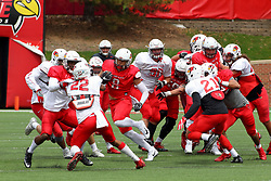21 April 2018:   Birch  Illinois State Redbirds Spring Scrimmage Football game at Hancock Stadium in Normal IL (Photo by Alan Look)