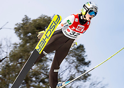 08.02.2020, Energie AG Skisprung Arena, Hinzenbach, AUT, FIS Weltcup Ski Sprung, Damen, Wertungsdurchgang, im Bild Nika Kriznar (SLO) // during her competition jump for the women's FIS Ski Jumping World Cup at the Energie AG Skisprung Arena in Hinzenbach, Austria on 2020/02/08. EXPA Pictures © 2020, PhotoCredit: EXPA/ Reinhard Eisenbauer