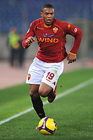 Fotball<br /> Italia<br /> Foto: Inside/Digitalsport<br /> NORWAY ONLY<br /> <br /> Julio Baptista (Roma)<br /> <br /> 21.02.2009<br /> Roma v Siena (1-0)