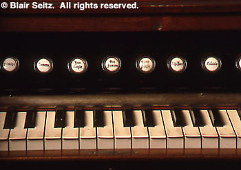 Aged Piano Keys, Landis Valley Farm Museum, Lancaster Co., PA