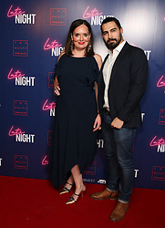 Deborah Francis-White and Steve Ally attending the LATE NIGHT Gala Screening at Picture House Central, London. Picture dated: Monday May 20, 2019. Photo credit should read: Isabel Infantes / EMPICS Entertainment.