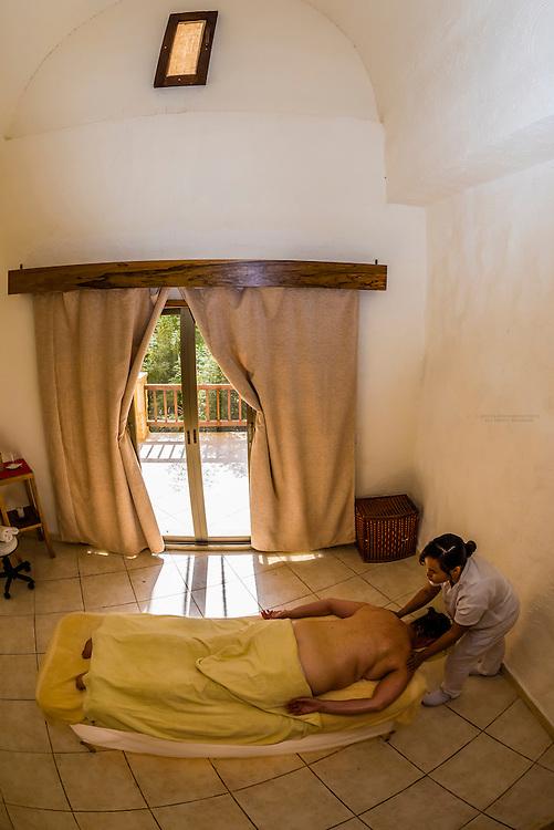 Massage, The Cascade Spa at the Evason Ma'in Hot Springs Resort, Jordan.