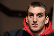 Wales capt Sam Warburton. Wales rugby team training at the Millennium stadium in Cardiff on Friday 10th Feb 2012.  pic by Andrew Orchard, Andrew Orchard sports photography,