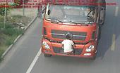 Truck Driver Buddy Risks Life
