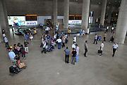 Israel, Ben-Gurion international Airport, Arrival Hall