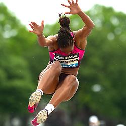 adidas Grand Prix Diamond League professional track & field meet: womens long jump, Shara PROCTOR, Great Britain