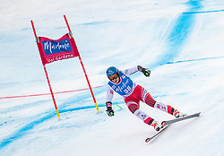 19.12.2018, Saslong, St. Christina, ITA, FIS Weltcup Ski Alpin, SuperG, Damen, im Bild Nadine Fest (AUT) // Nadine Fest of Austria in action during her run in the ladie's Super-G of FIS ski alpine world cup at the Saslong in St. Christina, Italy on 2018/12/19. EXPA Pictures © 2018, PhotoCredit: EXPA/ Johann Groder