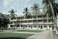 Tuol Sleng Genocide Museum complex in Phnom Penh, Cambodia