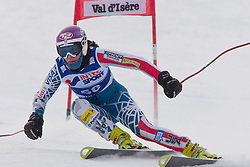 15.12.2010, Val d Isere, FRA, FIS World Cup Ski Alpin, Ladies, Val D Isere, im Bild Megan McJames (USA) speeds down the course, whilst competing in the first official training run for the FIS Alpine skiing World Cup race in Val D'Isere France, EXPA Pictures © 2010, PhotoCredit: EXPA/ M. Gunn