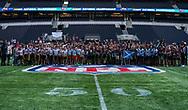 during the NFL UK Media Day at Tottenham Hotspur Stadium, London, United Kingdom on 3 July 2019.