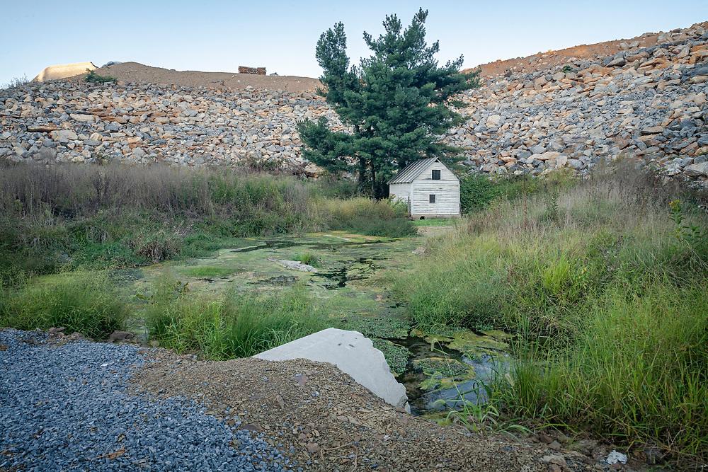 Area fill development project on wetland