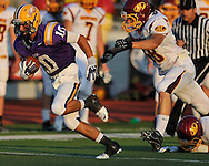 Avon Lake High School at Avon High School varsity football on August 29, 2013. Images © David Richard and may not be copied, posted, published or printed without permission.