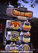 Hershey, PA, Hershey Chocolate World, Signage