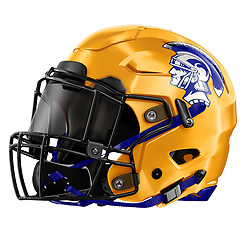 Terra Linda High School Football Helmet