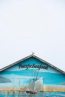 Bay City on Tillamook Bay, Oregon.
