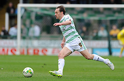 Yeovil Town's James Hayter - Photo mandatory by-line: Harry Trump/JMP - Mobile: 07966 386802 - 03/04/15 - SPORT - FOOTBALL - Sky Bet League One - Yeovil Town v Chesterfield - Huish Park, Yeovil, England.