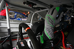 October 5, 2018 - Dover, Delaware, United States of America - Chase Briscoe (60) hangs out in the garage during practice for the Bar Harbor 200 at Dover International Speedway in Dover, Delaware. (Credit Image: © Justin R. Noe Asp Inc/ASP via ZUMA Wire)