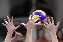 10-10-2011 ALGEMEEN: HANDEN IN DE SPORT: AL OVER THE WORLD<br /> Handshaking, handen, signs, handje klap, begroeting, handshaking, yell, bal, vreugde, hands, celebrate, sport, sports, volleybal, item<br /> ©2012-FotoHoogendoorn.nl