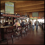 The Pelican Brew Pub, a microbrewery in Pacific City at the Oregon Coast