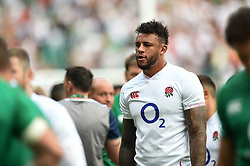 Courtney Lawes of England looks on after the match - Mandatory byline: Patrick Khachfe/JMP - 07966 386802 - 24/08/2019 - RUGBY UNION - Twickenham Stadium - London, England - England v Ireland - Quilter International