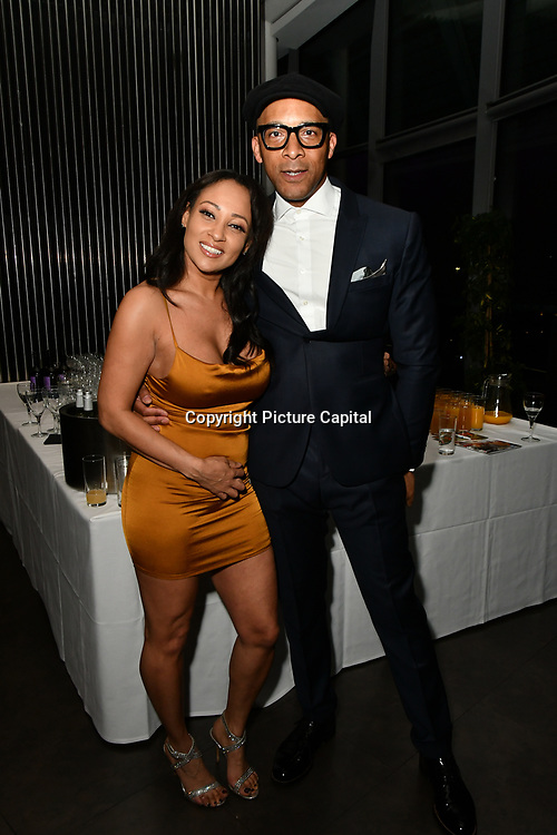 Lisa Maffia and Jay Blades attend The BAME Donor Gala - Awareness gala hosted by the Health Committee with live music and poetry performances at City Hall at The Queen's Walk, London, UK. 18 March 2019.