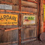 Barn Interior - Texaco And Bardahl Signs - Eldorado Canyon - Nelson NV