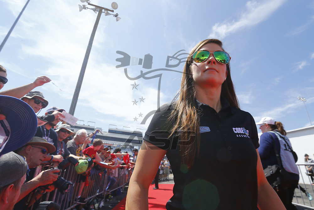 April 30, 2017 - Richmond, Virginia, USA: Danica Patrick (10) walks to the drivers meeting prior to the Toyota Owners 400 at Richmond International Speedway in Richmond, Virginia.