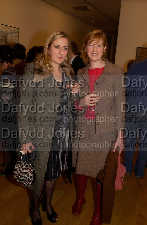 Susy Boyt and Isabel Sharp, Catherine Goodman and David Dawson: 2 London painters-private view. Marlborough. 23 November 2004. ONE TIME USE ONLY - DO NOT ARCHIVE  © Copyright Photograph by Dafydd Jones 66 Stockwell Park Rd. London SW9 0DA Tel 020 7733 0108 www.dafjones.com