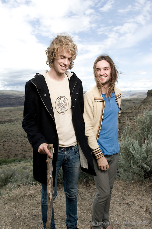 (From left) Jay Watson of Tame Impala and Kevin Parker of Tame Impala