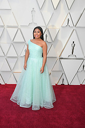 February 24, 2019 - Los Angeles, California, U.S - YALITZA APARICIO during red carpet arrivals for the 91st Academy Awards, presented by the Academy of Motion Picture Arts and Sciences (AMPAS), at the Dolby Theatre in Hollywood. (Credit Image: © Kevin Sullivan via ZUMA Wire)
