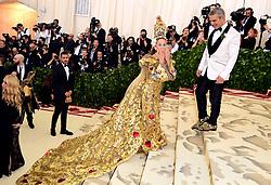 Sarah Jessica Parker attending the Metropolitan Museum of Art Costume Institute Benefit Gala 2018 in New York, USA.