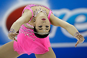 Participants compete in the Junior Division of the U.S. Figure Skating Championships, Wednesday, Jan. 18, 2017, in Kansas City, Mo.  (AP Photo/Colin E. Braley)