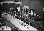 20/08/1962<br /> 08/20/1962<br /> 20 August 1962 <br /> Efficient Distribution Ltd. Dinner at Shelbourne Hotel, Dublin.  Image shows Mr John K. Clear speaking at the event.