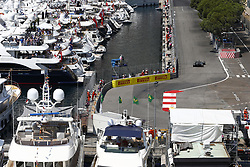 May 27, 2017 - Monte Carlo, Monaco - Motorsports: FIA Formula One World Championship 2017, Grand Prix of Monaco, .#8 Romain Grosjean (FRA, Haas F1 Team) (Credit Image: © Hoch Zwei via ZUMA Wire)