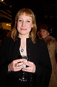 Katherine Ellis, Party hosted by Isabella Blow in honour of Shaun Leane to celebrate his jewelry collection. Liberty's. London. 8 December 2004. ONE TIME USE ONLY - DO NOT ARCHIVE  © Copyright Photograph by Dafydd Jones 66 Stockwell Park Rd. London SW9 0DA Tel 020 7733 0108 www.dafjones.com
