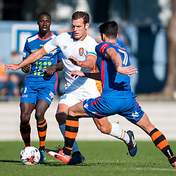 BRISBANE, AUSTRALIA - AUGUST 5:  during the Pre-Seaon Friendly match between Peninsula Power and Brisbane Roar on August 5, 2017 in Brisbane, Australia. (Photo by Patrick Kearney)