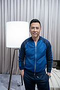 Donnie Yen, Hong Kong actor, martial artist, and film director, poses for a photograph prior to a media interview, during Melco Morpheus building Opening in Macau, China, on 15 June 2018. Photo by Lucas Schifres