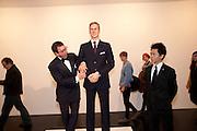 PETER ELLIOT; PRINCE WILLIAM WAXWORK, 'Engagement' exhibition of work by Jennifer Rubell. Stephen Friedman Gallery. London. 7 February 2011. -DO NOT ARCHIVE-© Copyright Photograph by Dafydd Jones. 248 Clapham Rd. London SW9 0PZ. Tel 0207 820 0771. www.dafjones.com.