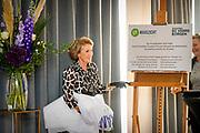 ROTTERDAM, 18-09-2020 <br /> <br /> Prinses Margriet der Nederlanden tijdens de opening van het nieuwe gebouw van Stichting Maaszicht in Rotterdam. De nieuwe locatie biedt 39 beschermde woonplekken voor jongeren.