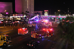 Las Vegas massive shooting which has claimed 58 lives and over 500 injured after 64 year old Stephen Paddock open fire from the Mandalay bay hotel. 01 Oct 2017 Pictured: Las Vegas shooting . Photo credit: gotpap/Bauergriffin.com / MEGA TheMegaAgency.com +1 888 505 6342