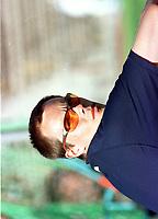 Friidrett, Trond Høiby, Ski, driver med mangekamp. Han deltok i et stevne på Bislett stadion 1999. Foto: Digitalsport