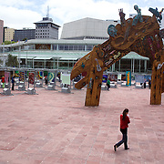Aotea Square in Auckland City Centre, Auckland, New Zealand, 5th November 2010. Photo Tim Clayton
