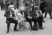 STEPHEN HANSON, CHERYL EVANS FROM YORKSHIRE, JOHN JONES AND FRANCES JONES FROM WINCHESTER, Qatar Prix de l'Arc de Triomphe, Longchamp, Paris, 6 October 2019