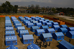 March 18, 2020, Kathmandu, Nepal: A general view of the quarantine zone during a demonstration to prepare over concerns of coronavirus COVID-19 disease spread at a quarantine zone inside the Army headquarters in Kathmandu, Nepal. (Credit Image: © Skanda Gautam/ZUMA Wire)